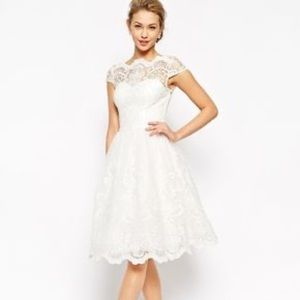 NWT Chi Chi London | Lace Wedding Prom Retro Dress